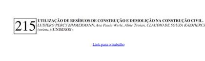 Utilização de Resíduos de Construção e Demolição na Construção Civil